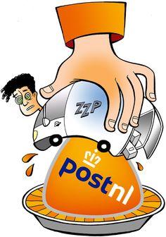 PostNL knijpt zzp'ers uit