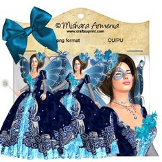 Angelique blue rococo on Craftsuprint designed by Mishara Armenia - �Mishara Armenia Commercial and personal use ok. Dont resell them in their original form (as poser tubes) in any other site. Dont claim my work as yours. These tubes can be resized and recolored - Now available for download!