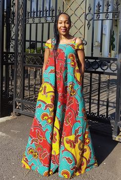 Hello beautiful ladies, Ankara gowns has made us understand the beauty of the Ankara fabrics. Ankara gowns are so beautiful and attractive. These ankara gowns are so sweet and charming. With these gowns, you would look so outstanding and unique. Ankara Maxi Dress, African Maxi Dresses, Latest African Fashion Dresses, African Dresses For Women, African Print Fashion, African Attire, African Wear, African Prints, Ankara Fashion