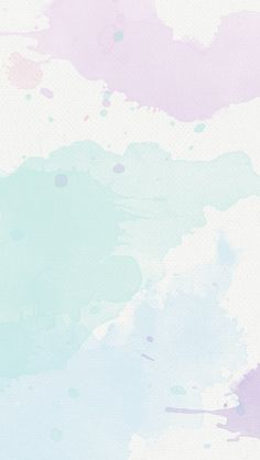 Lavender mint Pastel watercolour texture phone background iphone wallpaper lock…