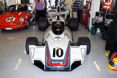 1974 Brabham BT44 designed by Gordon Murray at Silverstone Classic in 2011