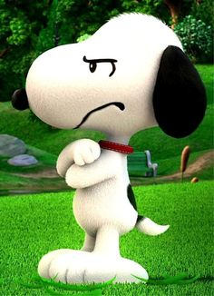 Snoopy Angry