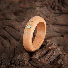 Кольцо хризопраз Австралия (дерево) размер 16,5