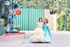 Disney Face Characters, Bridesmaid Dresses, Wedding Dresses, Beauty And The Beast, Disneyland, Disney Princesses, Ariel, Amazing, Dreams