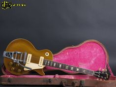 1954 Gibson Les Paul Gold Top - Bigsby