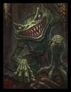 Smiler by Adam Vehige.  Hands grasp, talons spread wide