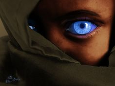 Love the Fremen eyes of Ibad, if only the contacts weren't so expensive...