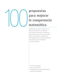Propuestas para-mejorar-competencia-matemc3a1tica by GonzoVanDamme via slideshare