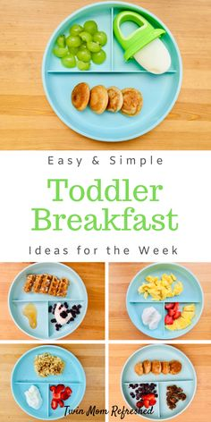 Need easy toddler breakfast ideas? This list of healthy, quick, and easy toddler… Need easy toddler breakfast ideas? This list of healthy, quick, and easy toddler breakfast ideas will provide your kid with nutrition and a good breakfast. Healthy Toddler Breakfast, Healthy Toddler Meals, Toddler Food, Breakfast Ideas For Toddlers, One Year Old Breakfast Ideas, Healthy Snacks For Toddlers, Breakfast Ideas For Kids, Easy Toddler Lunches, Baby Breakfast