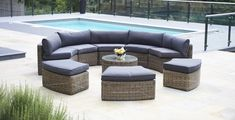 modular furniture Tips on cheap garden furniture to buy Sets from Rattan cheap rattan garden furniture sets 9 piece mayfair curved modular rattan garden furniture set