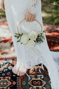 23 Best hoop bouquets images - weddingtopia