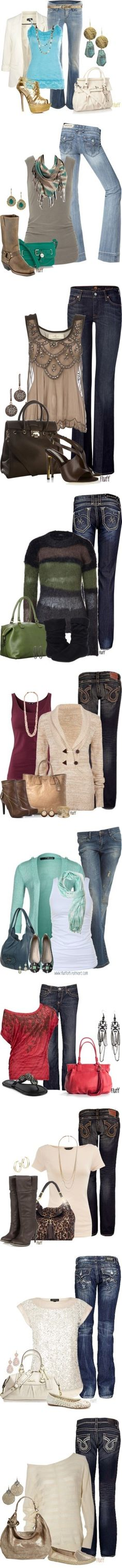 """Just Jeans"" by jennifer-mitchell310 on Polyvore"