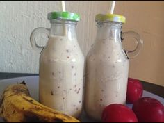 Banana Plum Milkshake for Babies or Toddlers Healthy Meals For Kids, Kids Meals, Healthy Recipes, Toddler Food, Toddler Meals, Milkshake, Hot Sauce Bottles, Plum, Toddlers