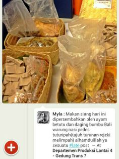 Testimoni ayam betutu dan daging bumbu Bali khas Warung Nasi PEDESSS Tuturipah, Jl. Arteri Pd. Indah Komplek Kodam P17 (samping BRI) Jakarta Selatan