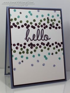 Dotty Angles - Stampin' Up! - Stamp With Amy K