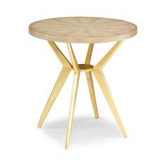 DwellStudio Odin Ivory Shagreen Side Table | DwellStudio