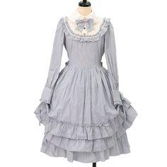 http://www.wunderwelt.jp/products/detail6900.html ☆ ·.. · ° ☆ ·.. · ° ☆ ·.. · ° ☆ ·.. · ° ☆ ·.. · ° ☆ Stripe Victorian dress Innocent World ☆ ·.. · ° ☆ How to order ↓ ☆ ·.. · ° ☆ http://www.wunderwelt.jp/user_data/shoppingguide-eng ☆ ·.. · ☆ Japanese Vintage Lolita clothing shop Wunderwelt ☆ ·.. · ☆