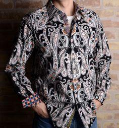 Mens Robert Graham Adelaide Men's Shirts, Printed Shirts, Robert Graham, Paisley Pattern, My Man, Afro, Versace, Style Me, Men's Fashion