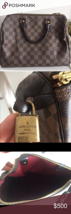 Louis Vuitton speedy bag 30 Condition: used, overall outside very good condition. Inside a little worn out, piping good condition. 100% authentic. Louis Vuitton Bags Totes