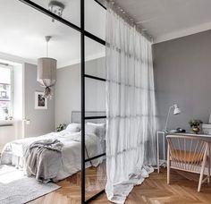Modernes Schlafzimmer, Schlafzimmer Inspiration, Schlafzimmer Einrichten,  Wohnungseinrichtung, Boho Wohnzimmer, 1 Zimmer