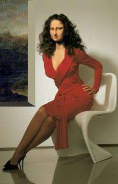 Mona Lisa Rossa