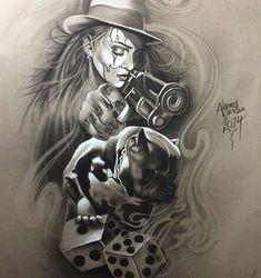 4d5e5e6fc211db41ef487a466032732e--art-chicano-chicano-tattoos.jpg (443×471)