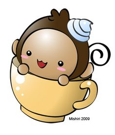 Monkey Cup by Mishiri.deviantart.com on @DeviantArt