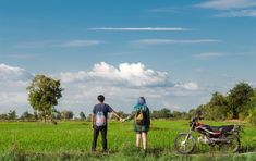 Battambang Province Cambodia  . . - Travelers are dreamers who make their desires for adventure a reality -  #dreamytravelstory . . #battambang #cambodia #motopacking #backpacking #couplegoals #cambodiaphotos #visitcambodia #cambodia101 #motorbike #creativetravelcouples #coupleswhotravel #backpackingcambodia #backpacking #beautifulcambodia #travelcambodia #explorecambodia #beautifulseasia #seasia #southeastasia #wanderlust #motorbiketrip #travelphotography #TLAsia #asia_vacations…