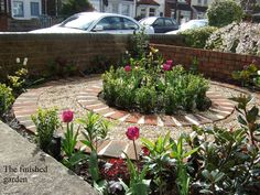 Front Garden Design Victorian Terrace plant flowers and use gravel instead of grass | country living