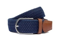 The Classic Navy Blue, The classic navy blue woven belt. You can't go wrong with this belt. For the less daring folk but still, ruddy smart.  This woven men's belt works well with pretty much any shirt/trouser combo or even vest/skirt combo, It depends on your life choices. Woven Belt, Life Choices, Pretty Much, Trouser, Folk, Navy Blue, Vest, Skirt, Classic