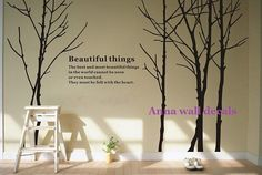 beautiful thingJungle tree wall decalwall decals by annaandnana