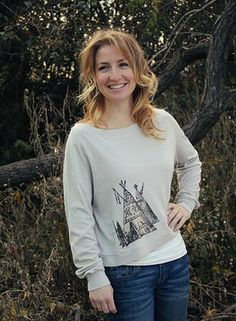 Vision Quest Tee by Original Cowgirl Clothing  All organic bamboo, cotton and soybean- crop longsleeve tee