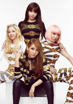 - From left to right - Sandara Park, Park Bom, Minzy and CL Yg Groups, Kpop Girl Groups, Korean Girl Groups, Kpop Girls, Cl Fashion, Kpop Fashion, Asian Fashion, Christina Aguilera, Aaliyah