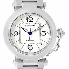 Women's Certified Pre-Owned Watches - Cartier PASHA automaticselfwind womens Watch W31074M7 Certified Preowned -- Visit the image link more details.
