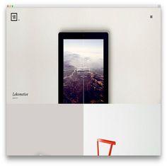 lobo portfolio template design