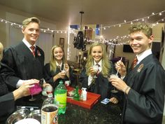 2016 Harry Potter Start of Term Feast  Potions Class