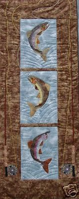 A Local I Think Crazy Looking Fly Fishing Quilt Mom