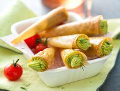 Avec les lectrices reporter de Femme Actuelle, découvrez les recettes de cuisine des internautes : Cornets de brick au guacamole