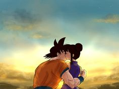 Shared by Gabo. Find images and videos about love, goku and chichi on We Heart It - the app to get lost in what you love.