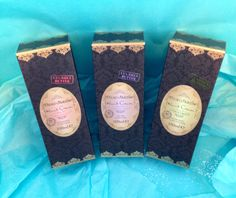 Beau Jardin trio of exfoliating soaps in Citrus Grove, Lavender ...