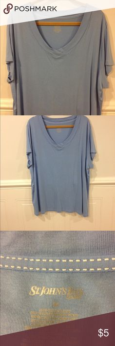 St John Bay 3X top good condition Size 3X St John Bay top good condition St John Bay Tops