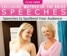 Mother of the Bride Speeches