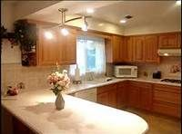 Kitchen Backsplash With Oak Cabinets kitchen design ideas with golden oak cabinets | new venetian gold