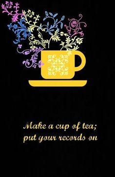 Toe tappin' tea.