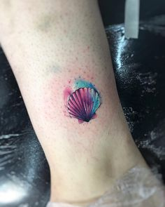 "4,602 curtidas, 16 comentários - Adrian Bascur (@adrianbascur) no Instagram: ""ocean AB #tattoo #tatuaje #colors #aquarelle #ocean #beach #watercolor #acuarela #ink #ab #concha…"""
