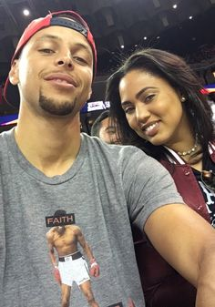Andre Iguodala, Steph and Ayesha Curry watch Kevin Durant's debut game in Oakland, California, Team USA bests Team China 2016 final score: 107 - 57 at Oracle Arena on Jul 2016 Ayesha And Steph Curry, Ayesha Curry, The Curry Family, All In The Family, Celebrity Look, Celebrity Couples, Wardell Stephen Curry, 2018 Nba Champions, Curry Warriors