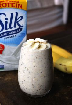 5-Ingredient Peanut Butter Banana Overnight Oats