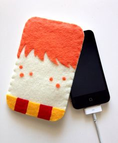 Ron Weasley Phone Cozy by lifegeekery on Etsy, $20.00