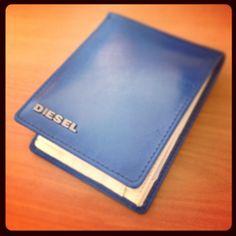 Diesel wallet #blue #leather