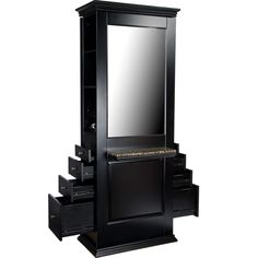Marilyn Single-Sided Styling Station WS-80BLK